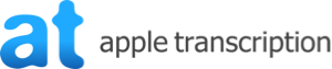 Apple Transcription – Business and Legal Transcription Service Logo